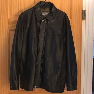 WILSONS LEATHER thinsulate lined leather bomber